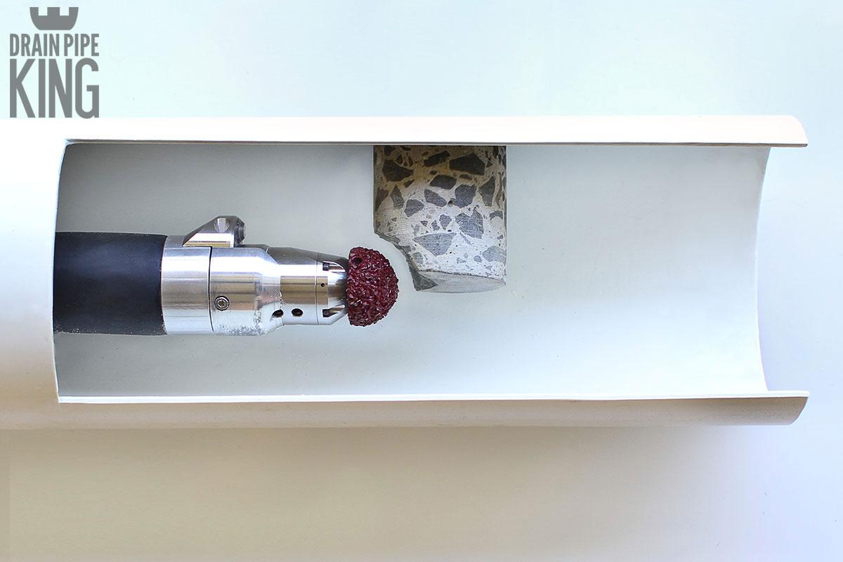 Robotic Cutting Drain Pipe King